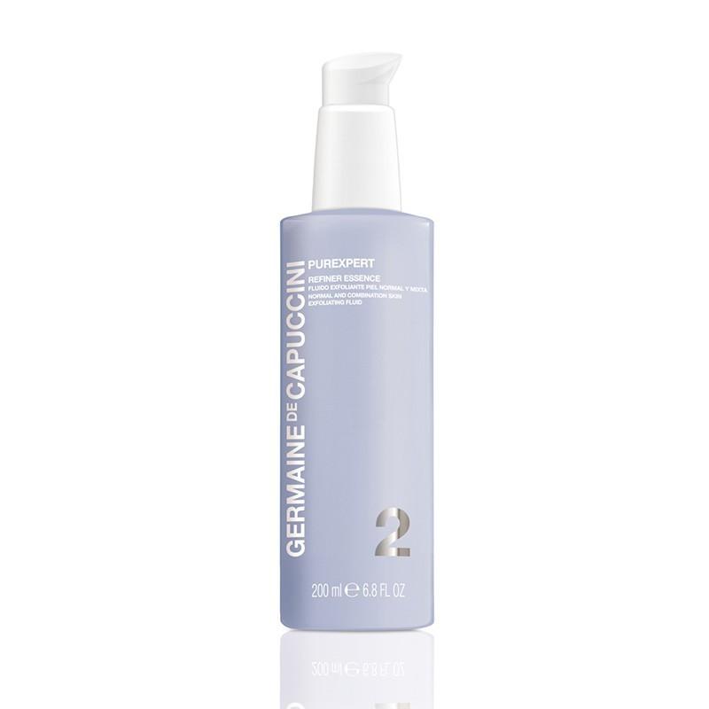 refiner essence fluido exfoliante piel normal y