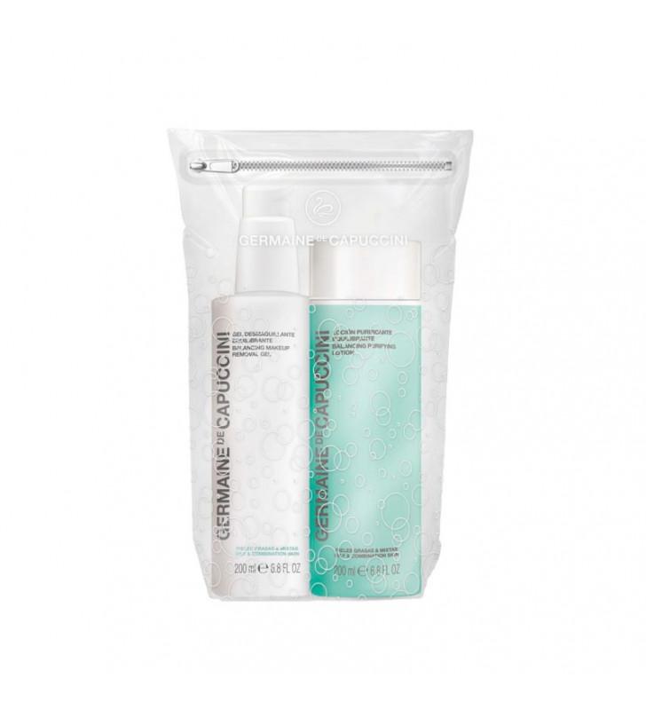balance skin duo gel desmaquillante equilibrante locion purificante equilibrante germaine de capuccini