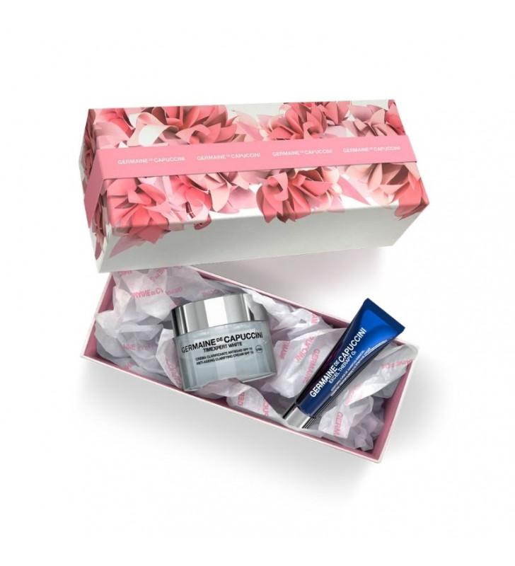 pack timexpert white crema clarificante antiedad spf15 germaine de capuccini